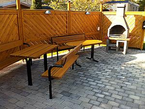 Grillplats mellan Blomstergatan 2 och 4